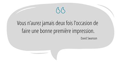 Agence Effet Garanti Présentation Commerciale Citation Swanson